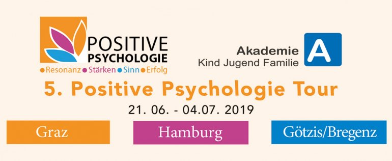 ANKÜNDIGUNG: 5. Positive Psychologie Tour